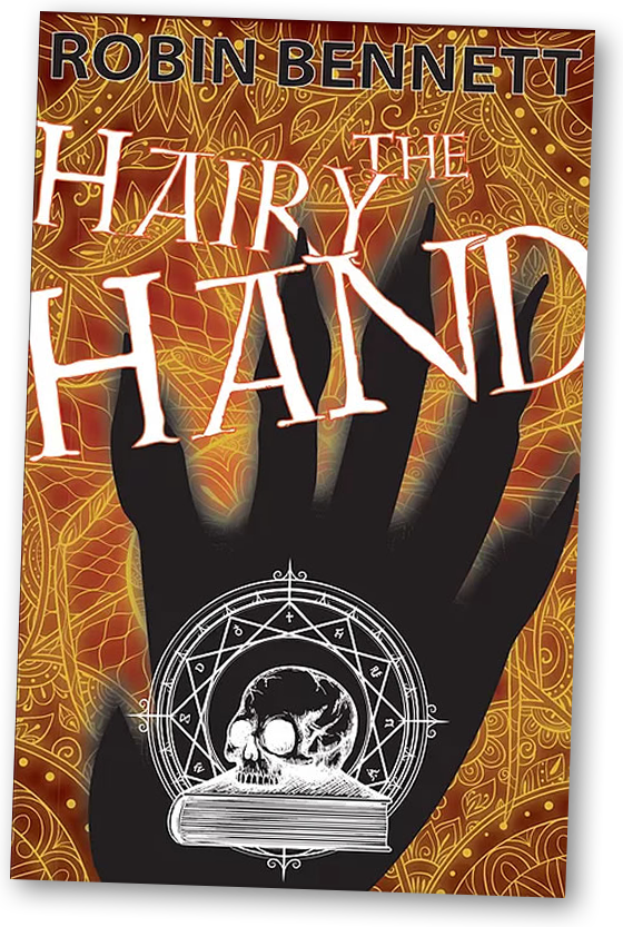 The Hairy Hand by Robin Bennett Book Cover