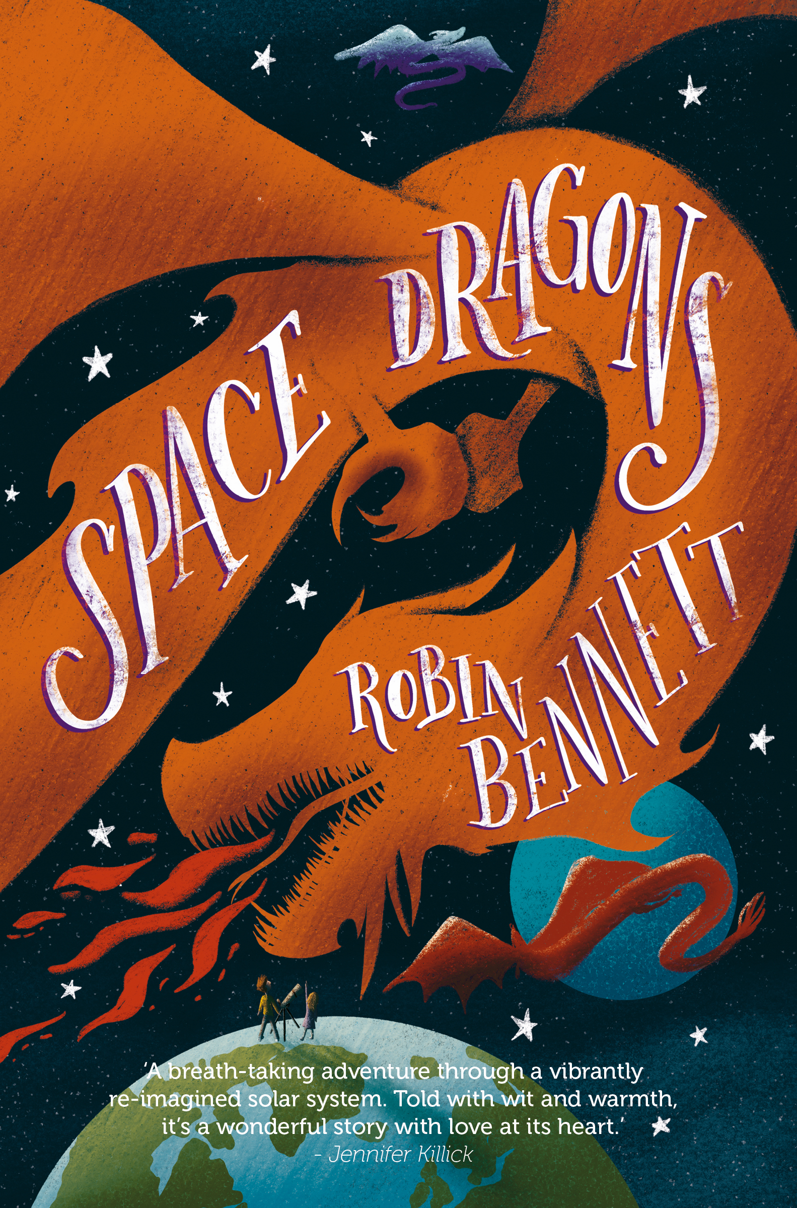 Space Dragons by Robin Bennett